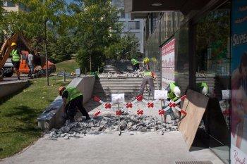 изкъртване на бетон с къртач