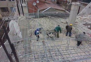 Работа по изкъртване на етаж