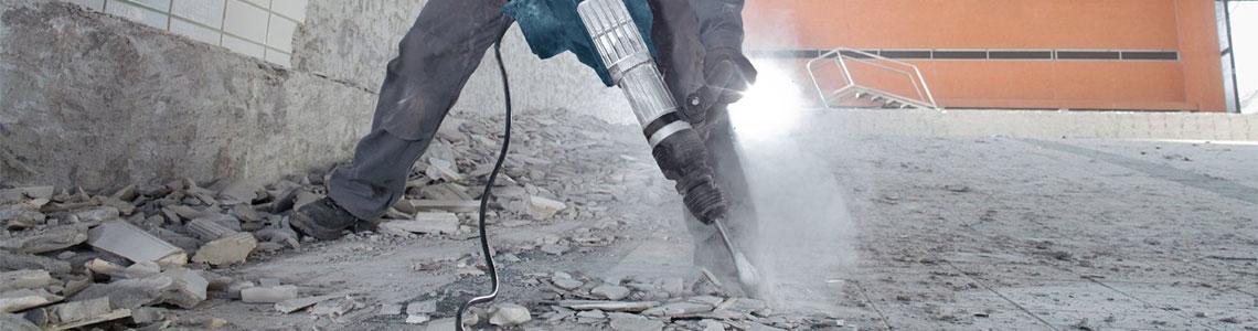 Специфика при къртене на бетонни елементи
